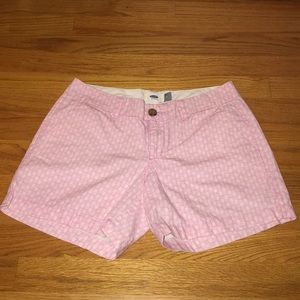 Old Navy pink pineapple shorts